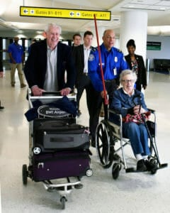 traveling with a wheelchair on airlines