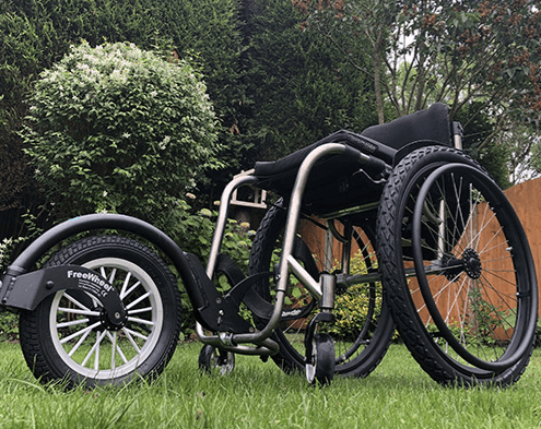 best wheelchair for grass and gravel