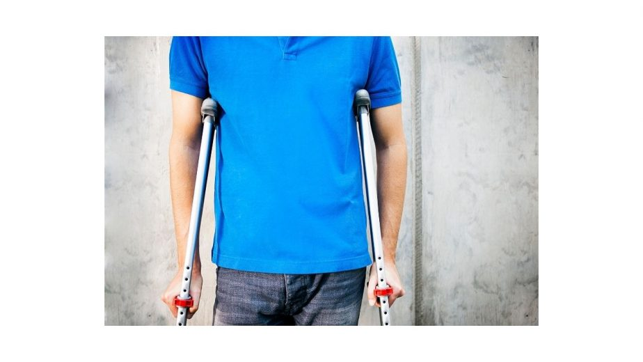 Crutches Make You Stronger and Lose Weight